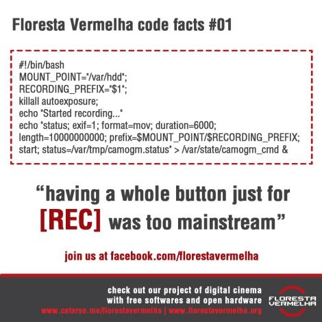 Floresta Vermelha Code Facts